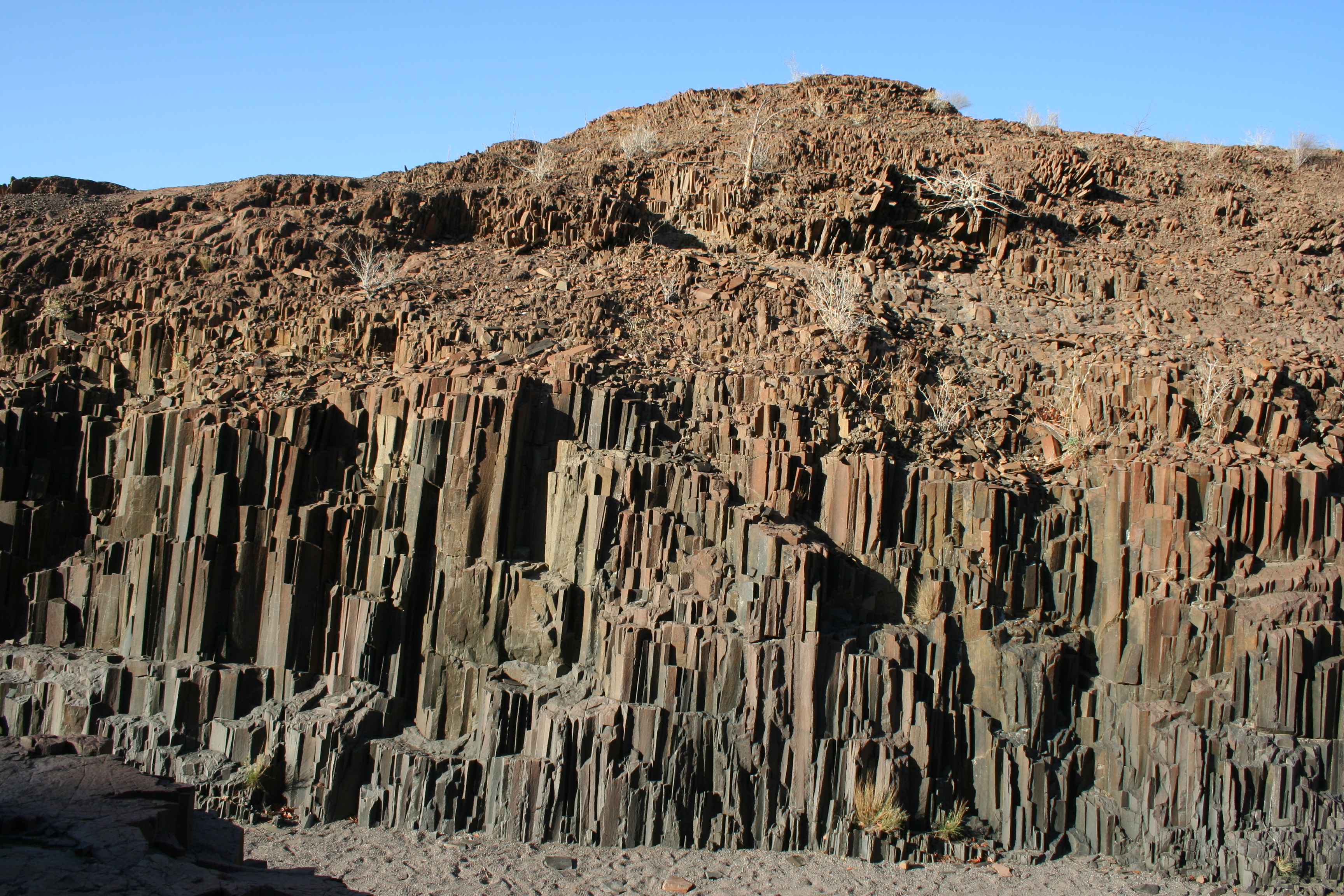 Organ Pipes Damaraland.JPG