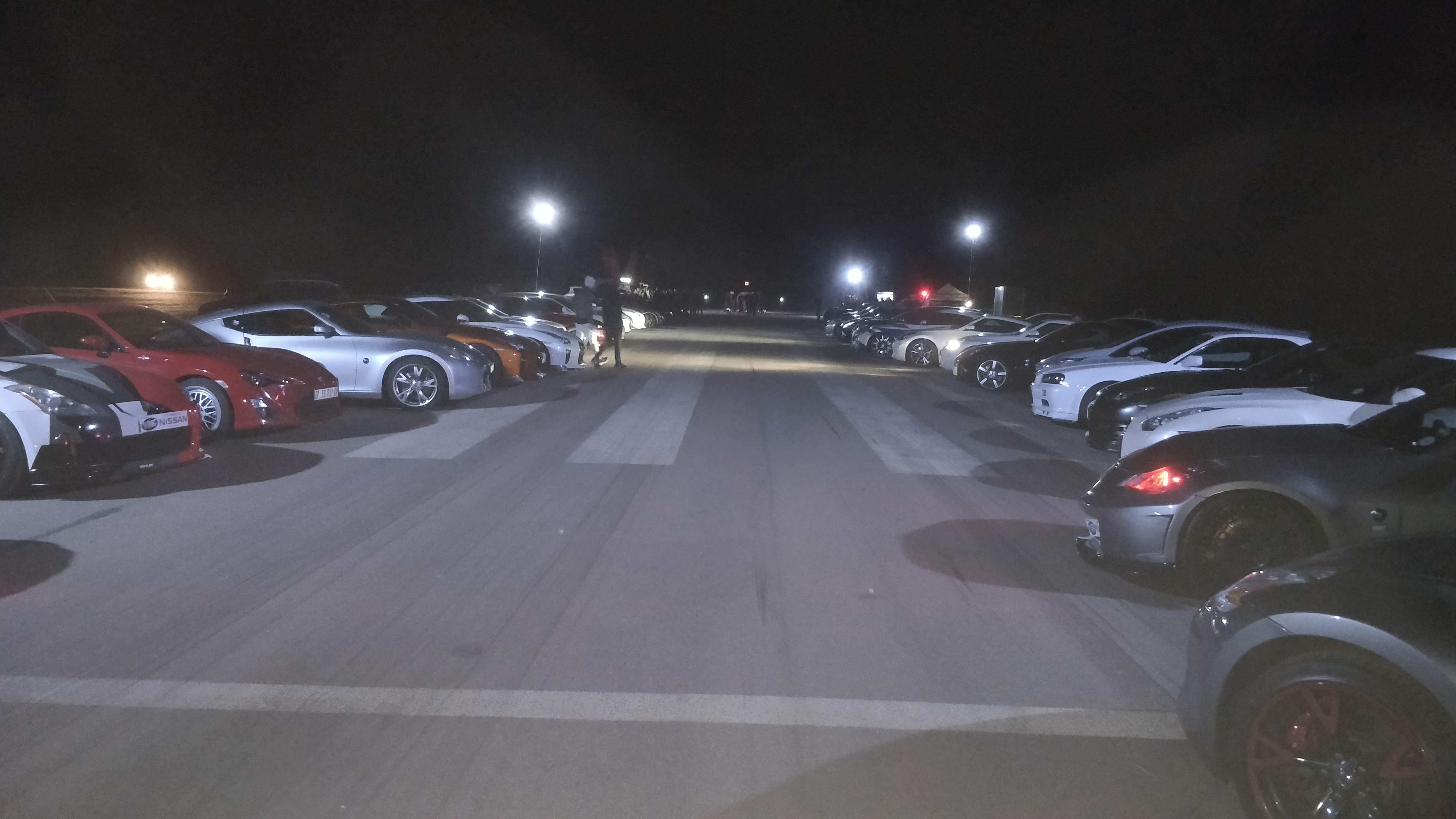 A few GTR and Z cars