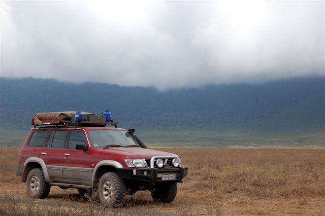 Patrol in Ngorongoro Crater Floor.JPG