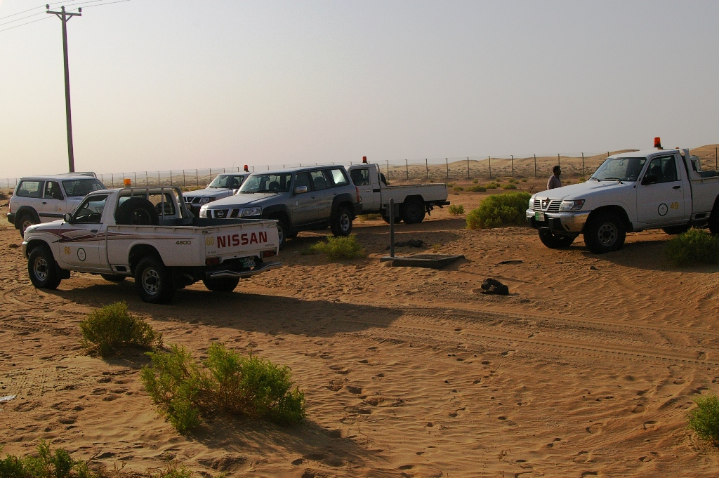 Arabs prefer Patrols. The silver one was mine for the month..jpg